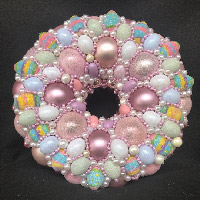 Mini Easter Eggs Wreath