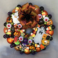 Small Eye Spy Wreath